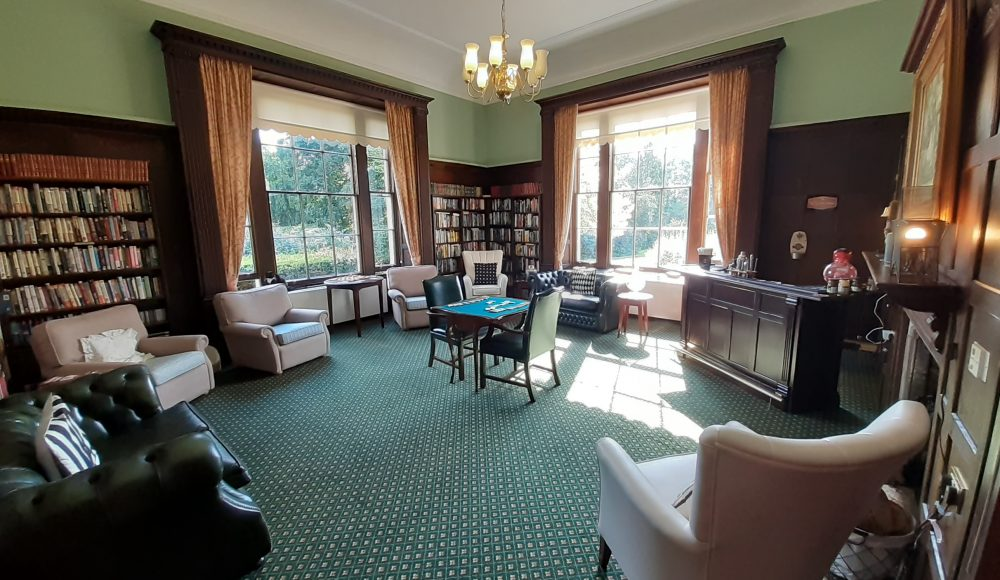 Library and bar area at Prince Edward Duke of Kent Court