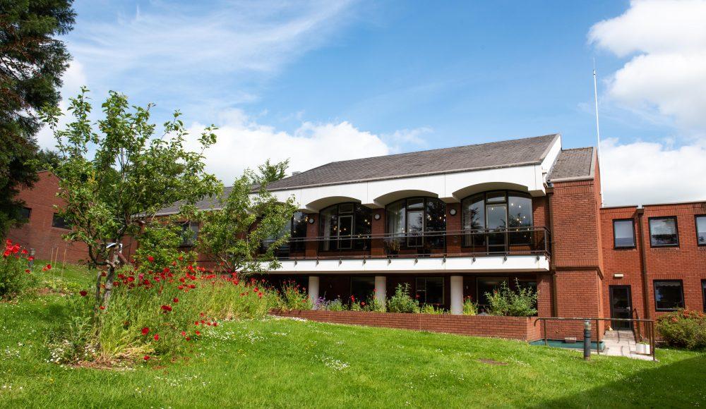 Exterior building at Cadogan Court, Exeter.