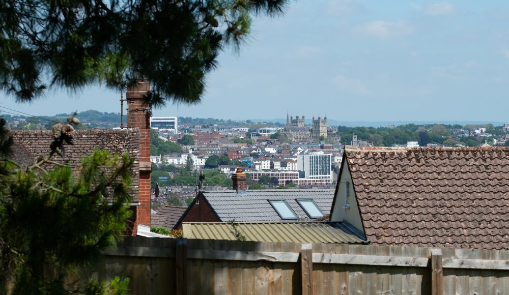View of Exeter at Cadogan Court, Exeter.