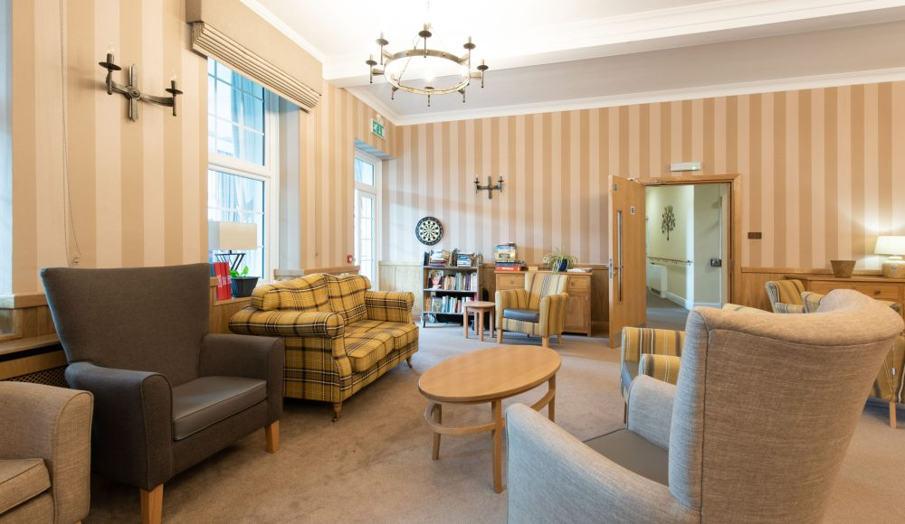 Lounge area at Cornwallis Court