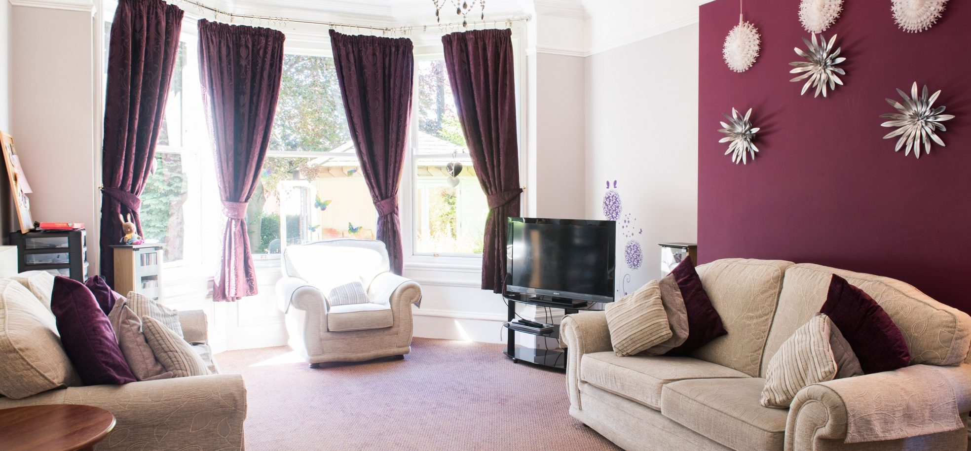 Harry Priestley House lounge area