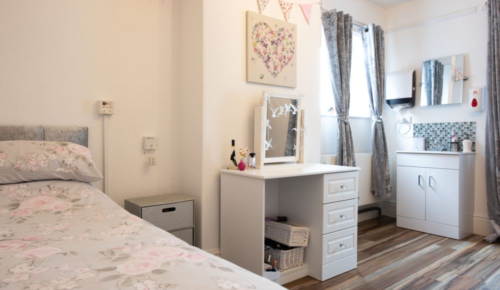 Bedroom at Harry Priestley House