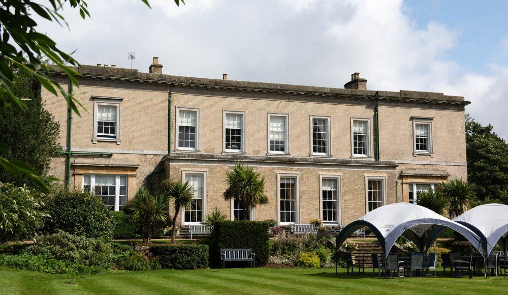 Garden area and gazebo at Prince Edward Duke of Kent Court