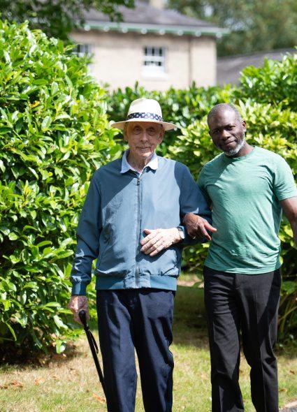 Garden walks at Prince Edward Duke of Kent Court