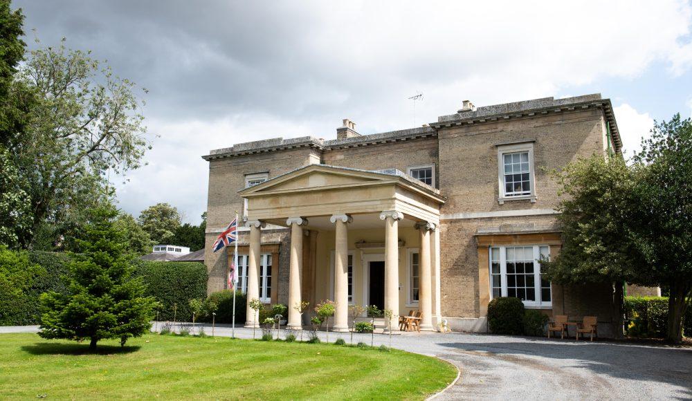 Front entrance at Prince Edward Duke of Kent Court