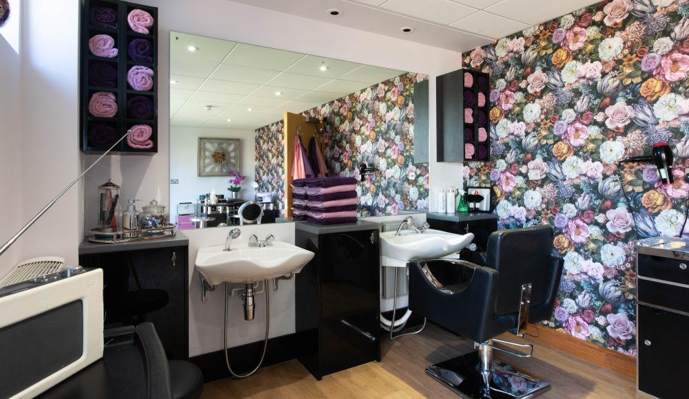 Beauty salon at Prince Michael of Kent Court