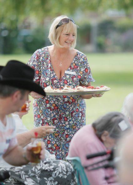 Outdoor events at Queen Elizabeth Court