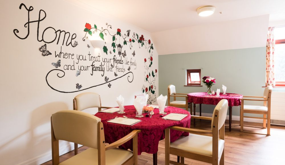 Dining area at Shannon Court