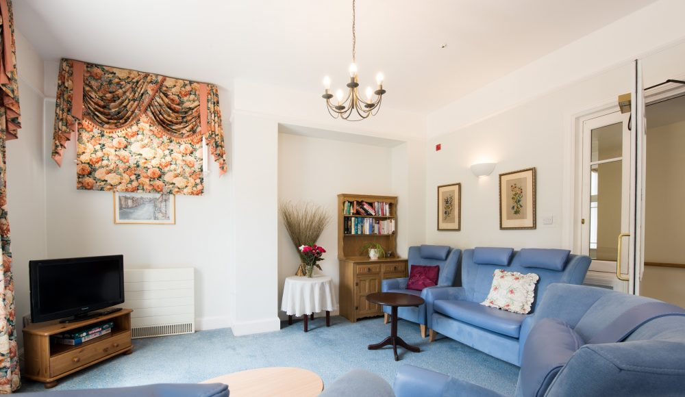 Lounge space at Shannon Court