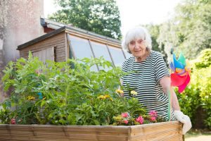 Resident Gladys at Shannon Court