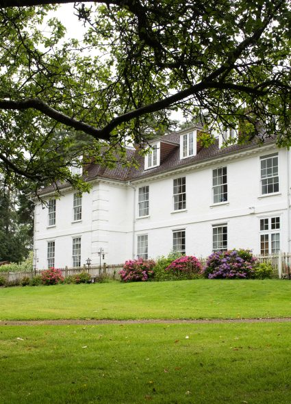External view and gardens at Shannon Court