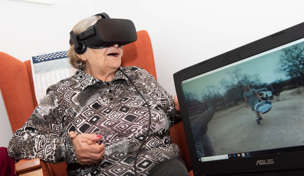 Virtual technology at Shannon Court