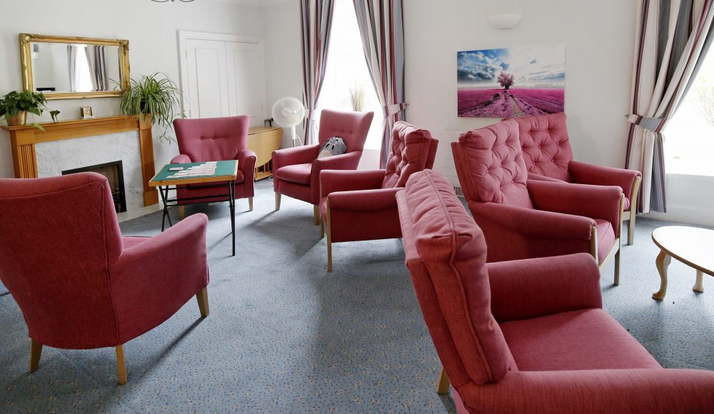 Lounge area at Shannon Court