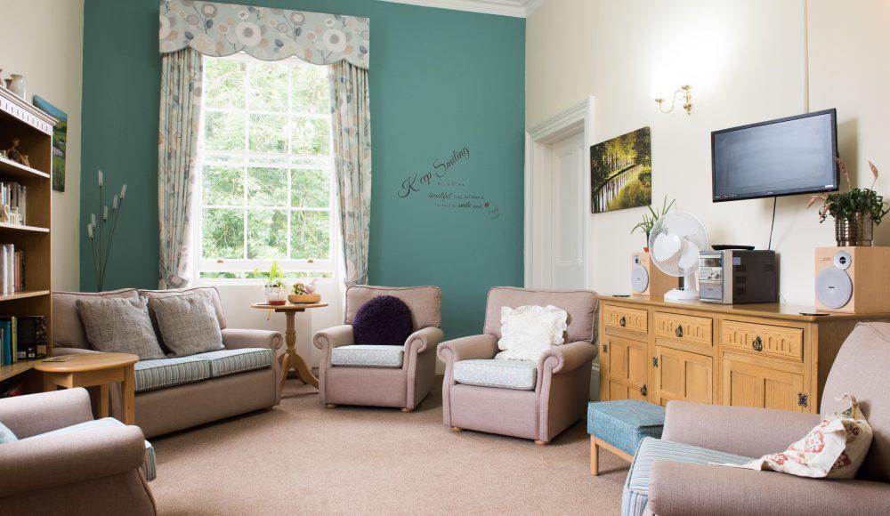 Prince Edward Duke of Kent Court lounge area