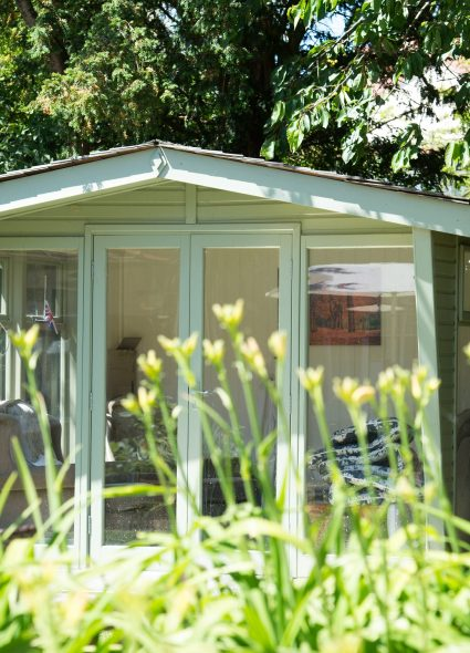 Summer house at The Tithebarn