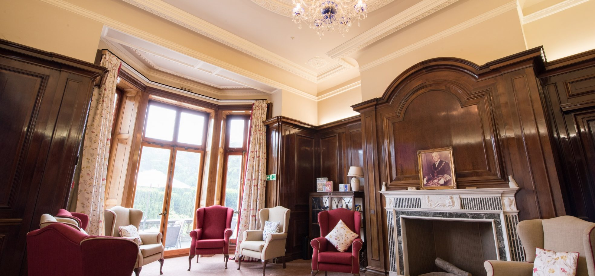 Main lounge area at Zetland Court
