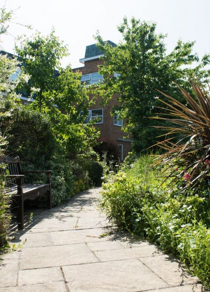 Outside spaces at Lord Harris Court