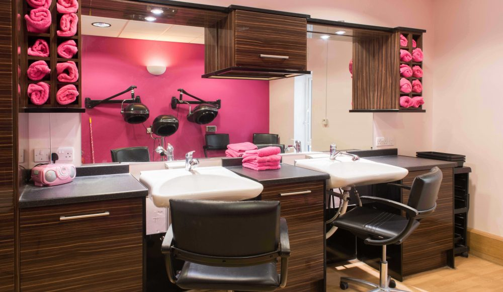 Beauty salon at Connaught Court