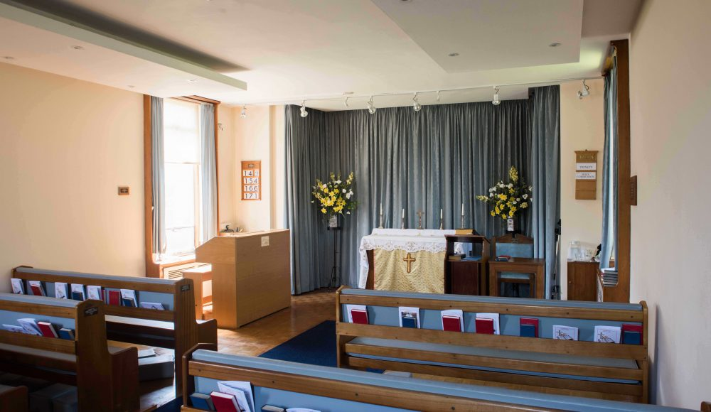 Chapel at Lord Harris Court
