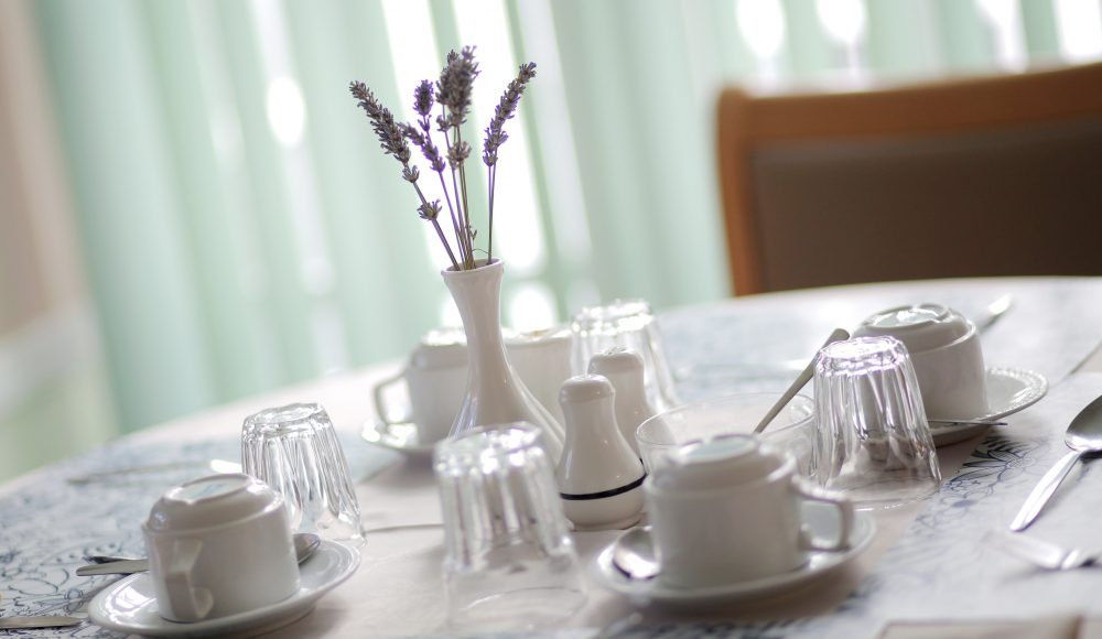 Dining area at Barford Court