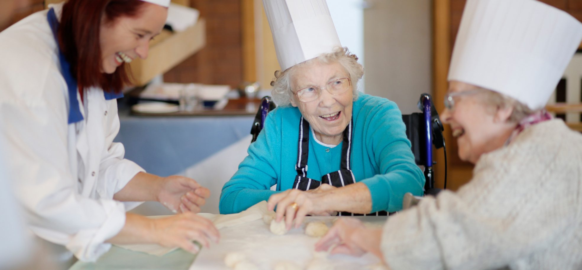 Residents enjoy baking at Cadogan Court