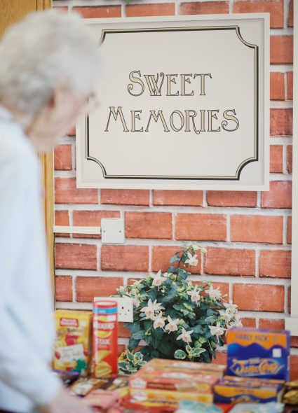 Sweet shop at Cadogan Court