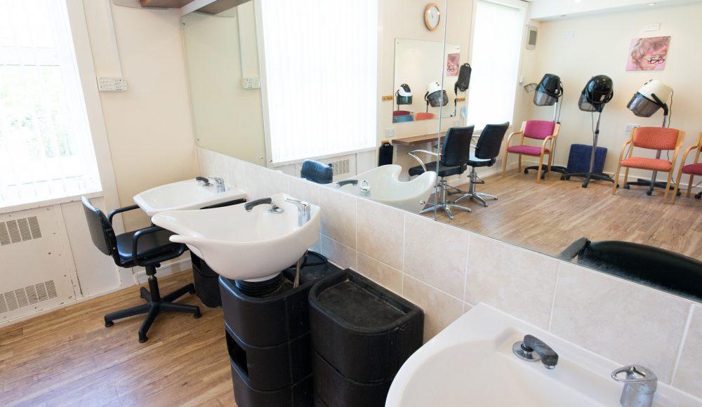 Hair salon at Prince George Duke of Kent Court