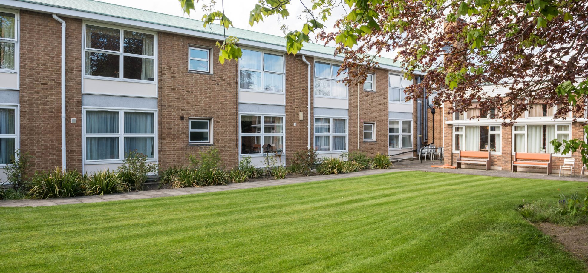 Building and gardens at Prince George Duke of Kent Court