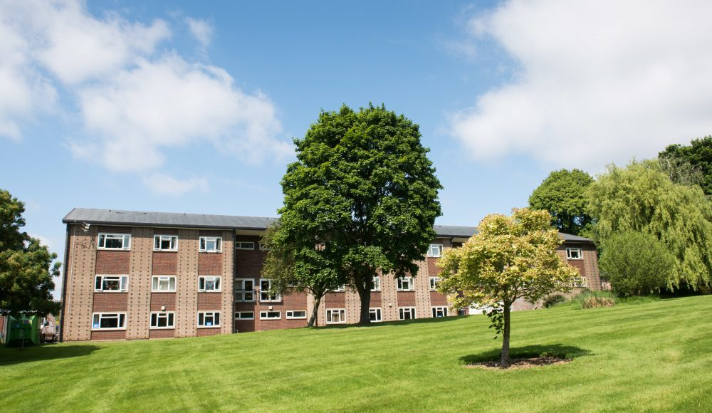 Green space at Connaught Court