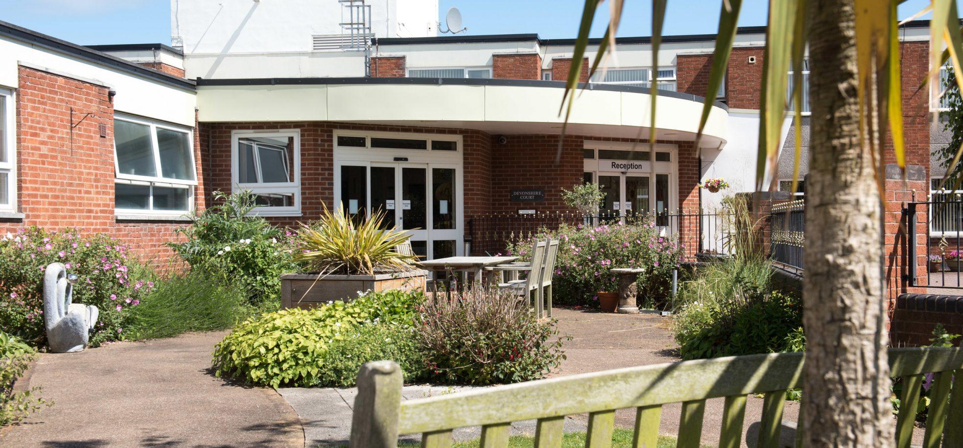 Front building at Devonshire Court