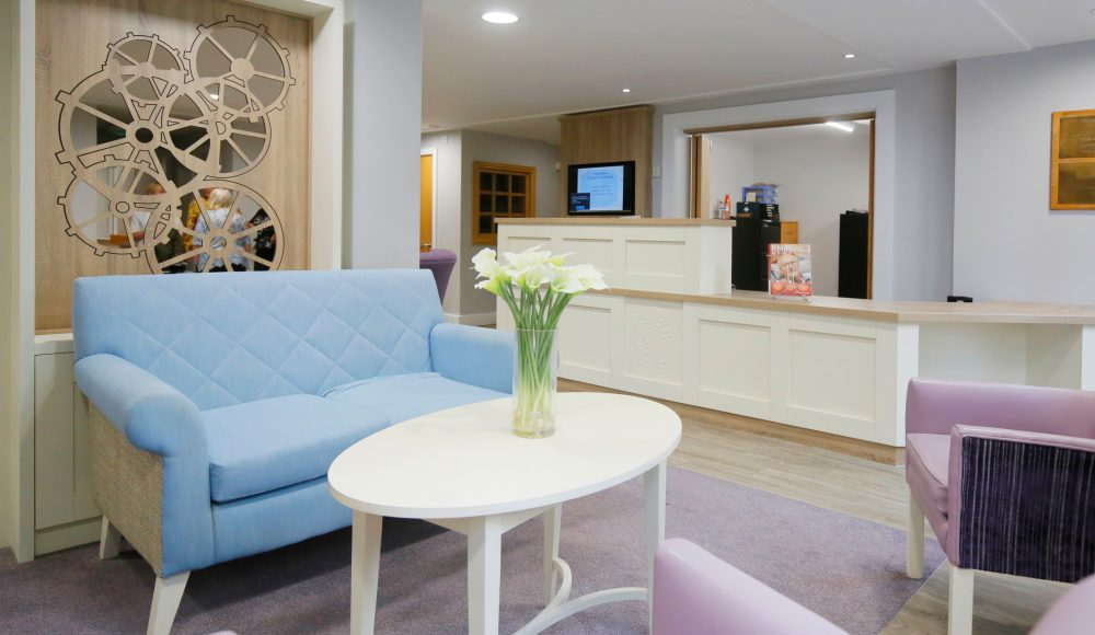 REception area at Ecclesholme