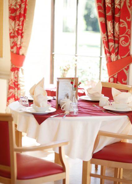 Dining area at Prince Edward Duke of Kent Court