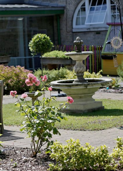 Gardens at Prince Edward Duke of Kent Court