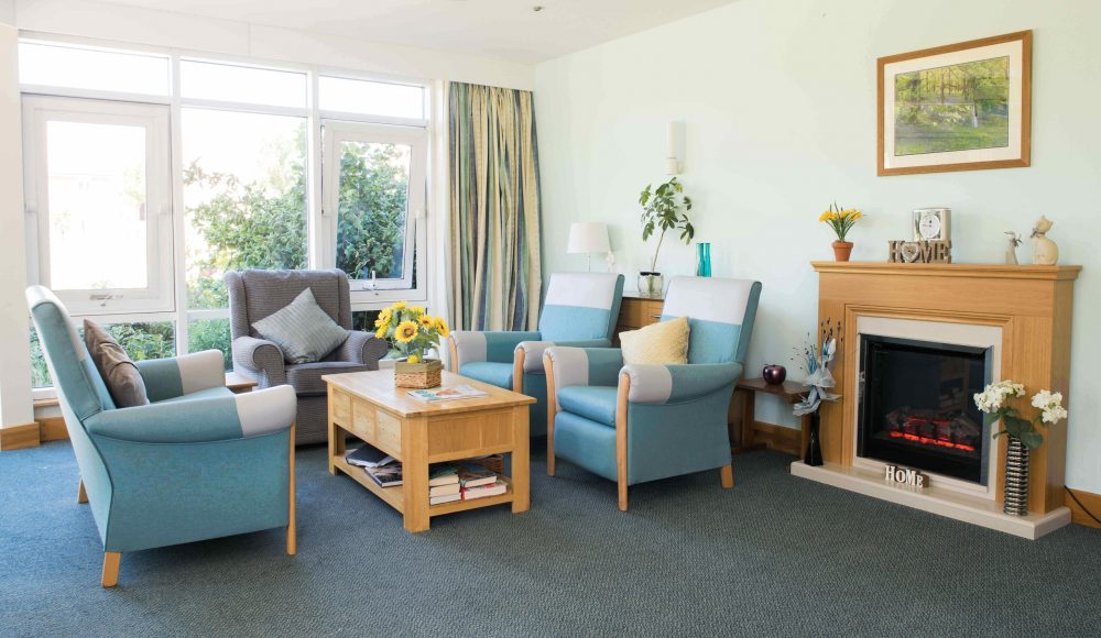 Lounge space at Scarbrough Court