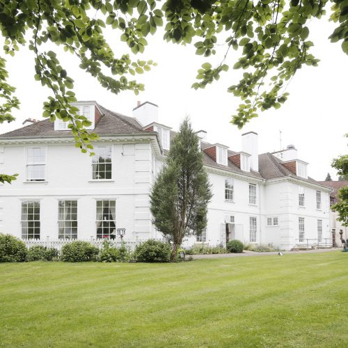 Main building and gardens at Shannon Court