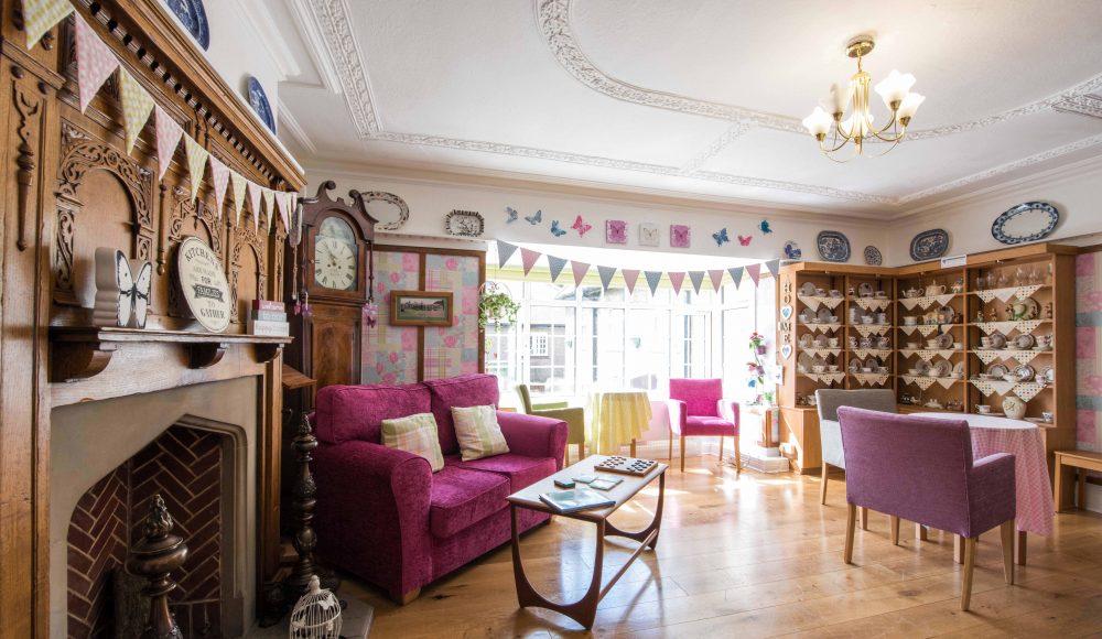 Main lounge at The Tithebarn