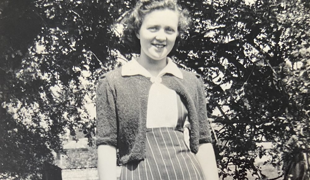 Peggy as a young woman