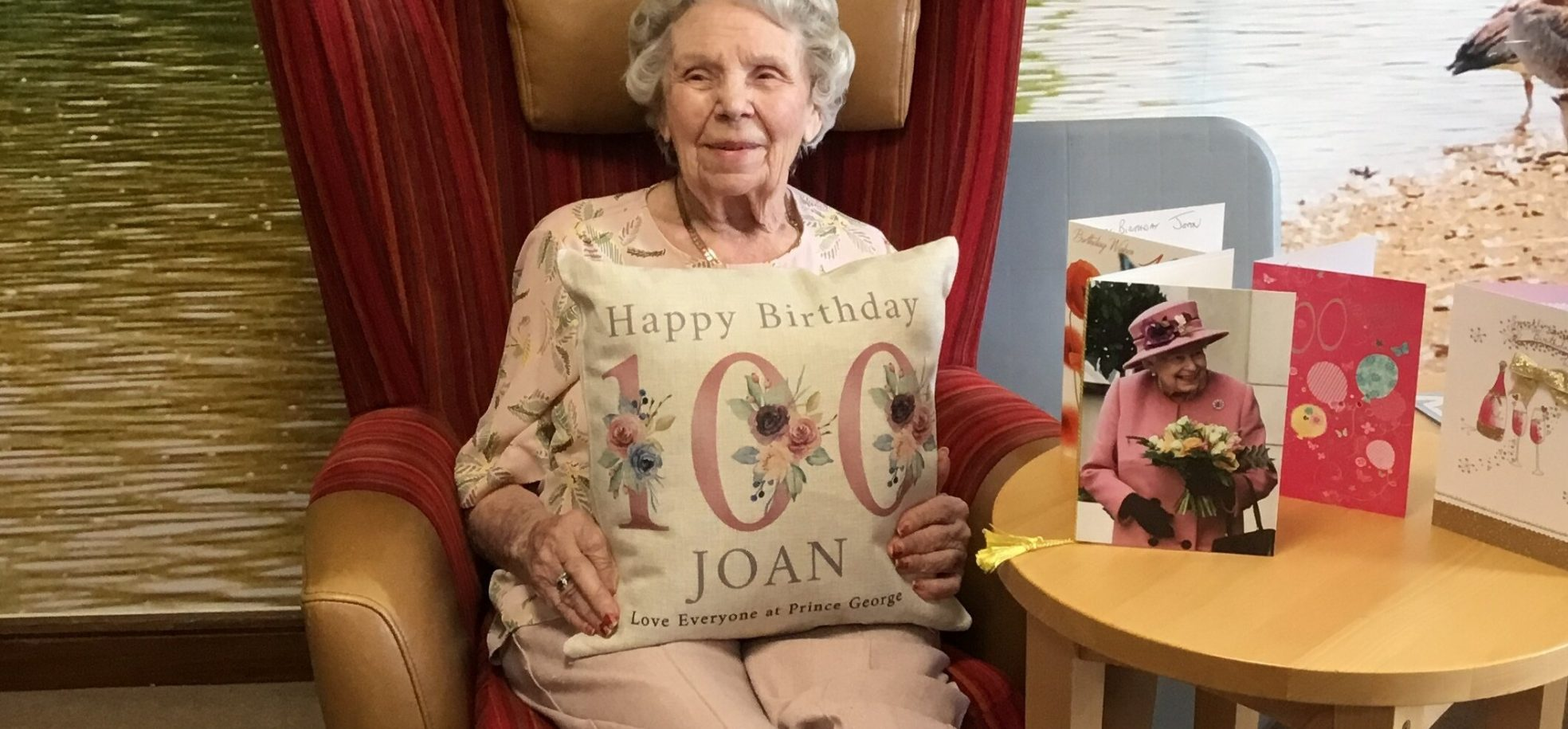 Resident celebrates 100th birthday at Prince George Duke of Kent Court