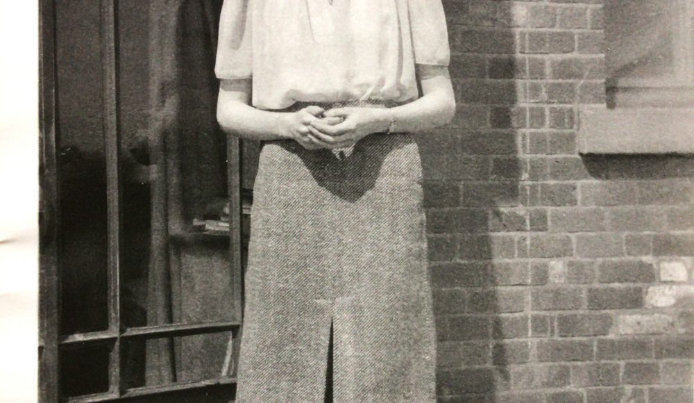 Barbara when she was a young woman
