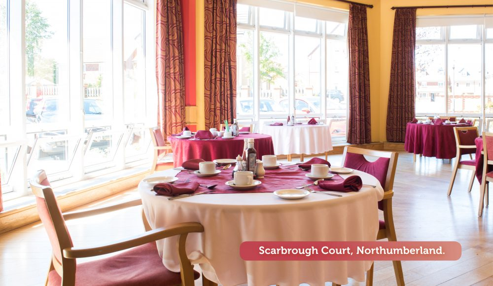 Scarbrough Court Northumberland Dining room