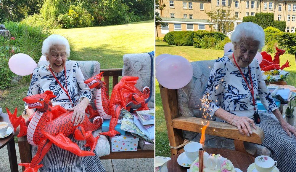 Joycelyn celebrates her 101st birthday