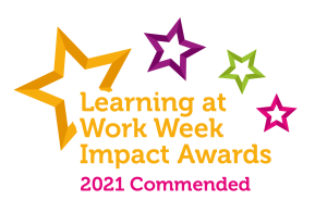 Learning at Work Week Impact Awards 2021 Commended